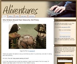 Aliventures-blog-screenshot